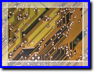 routed printed circuit board